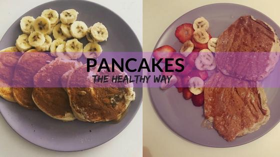 2 εκδοχές Pancakes αν προσέχεις τη διατροφήσου