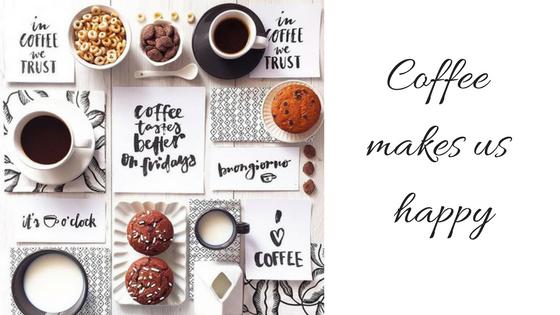 Ο καφές μας φτιάχνει τηδιάθεση.