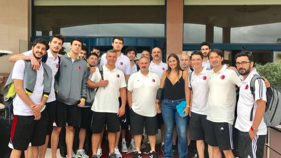 4 μέρες με την εθνική νέων ανδρών μπάσκετ τηςΤουρκίας!